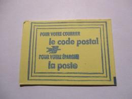 France Timbre *** Carnet Scellé Vignette De Code Postal 68200 Mulhouse - Definitives