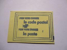 France Timbre *** Carnet Scellé Vignette De Code Postal 75016 Paris 16 - Definitives