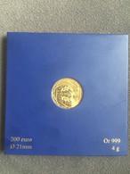 200 EUROS Des Régions 2011 En Or Pur (+ Port Recommandé R3 Gratuit) - Frankrijk