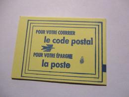 France Timbre *** Carnet Scellé Vignette De Code Postal 76610 Le Havre - Definitives