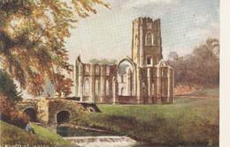 """H.H.Cubley. Harrogate. Fountains Abbey"" Tuck Oilette PC # 1659 - Tuck, Raphael"