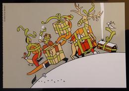 Humo Carte Postale - Advertising