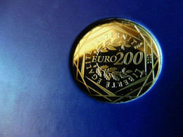200 EUROS Des Régions 2012 En Or Pur (+ Port Recommandé R3 Gratuit) - Frankrijk