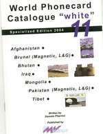 WPC-WHITE-N.11-AFGHANISTAN-BRUNEI-BHUTAN-IRAQ-MONGOLIA-PAKISTAN-TIBET - Books & CDs