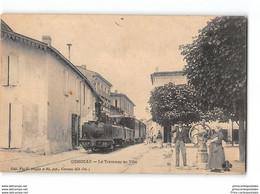 CPA 17 Gemozac Le Tramway De Ville - Sonstige Gemeinden