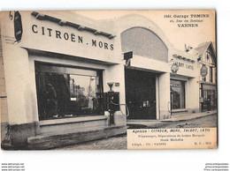 CPA 56 Vannes Garage Tomine Citroen Mors Talbot Latil Michelin 42. Rue Du Roulage - Vannes