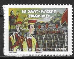 France 2011 Timbre Adhésif Neuf N°583A Bourgogne à La Faciale - Adhésifs (autocollants)