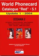 WORLD PHONECARD-RED-5.1 OCEANIA 2 - Books & CDs
