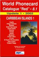 WORLD PHONECARD-RED-8.1 CARIBBEAN ISLANDS 1 - Books & CDs