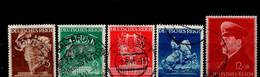 Deutsches Reich 768 - 772 Wiener Frühjahrsmesse / Hitler Gestempelt Used (1) - Usados