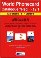 WORLD PHONECARD-RED-12.1 AFRICA 3 (R-Z) - Books & CDs