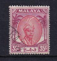 Malaya - Pahang: 1950/56   Sultan Abu Bakar    SG68     35c       Used - Pahang
