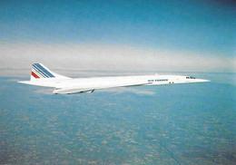 CP  Concorde  Air France En Vol. Edit. Arthur Dixon - Zonder Classificatie