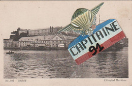 CPA BREST FINISTERE L HOPITAL MARITIME - Brest