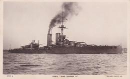 H.M.S. King Georges V - Guerra