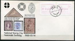South Africa Südafrika Mi# ATM 3 - P022 On Stamp Day Cover - Frama Labels