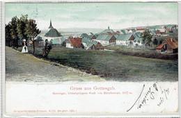 Gruss Aus Gottesgab - Boží Dar - Tschechien - Region Karlovy Vary - Höchtgelegene Stadt Von Mitteleuropa 1017 M. - República Checa