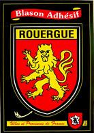 Blason Adhésif , Kroma , Villes Et Provinces De France , ROUERGUE , * M 20 05 - Unclassified
