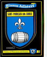 Blason Adhésif , KROMA  , Villes Et Provinces De France , SAINT POURCAIN SUR SIOULE , * M 20 56 - Andere Gemeenten
