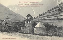 Ruines De L'Ancienne Commanderie Du Templier Et Le Cambiel Au Plan, Près D'Aragnouet - Autres Communes