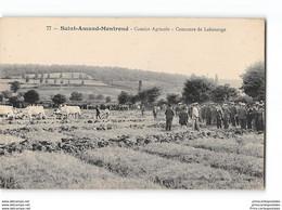 CPA 18 Saint Amand Montrond Comice Agricole Concours De Labourage - Saint-Amand-Montrond