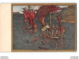 CPA Illustrateur Russe Roerich Croix Rouge - Red Cross Ste Eugenie - Rusia