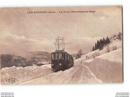 CPA 39 Les Rousses Le Tram Electrique Au Sagy - Other Municipalities