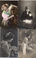 DC1016 - Schöne Motivkarten Lot Junge Dame Mädchen - Mujeres