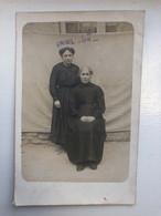 Foto Ak Cp Deux Femmes Grand Guerre 1914 1917 - Lens
