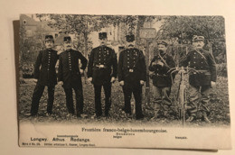 NEW - LUXEMBOURG - Douaniers Armée Soldats Freiwilligen Kompagnie Ww1 Troupe 1905 Gendarme Frontière Rodange - Otros