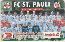 GERMANY-0374 - O 0645 93 - FC ST. PAULI - FOOTBALL - 7.000EX. - O-Series : Séries Client