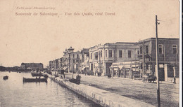 Souvenir De Salonique Vue Des Quais Coté Ouest - Grecia