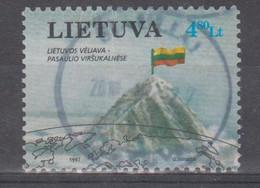 Lithuania 1997 Mi 634  Used Alpinism - Lituania