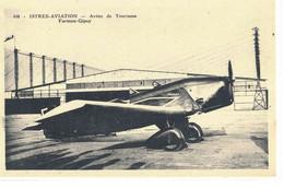 CPA  ISTRES - AVIATION  Avion De Tourisme -  Farman - Gipsy  N° 448 - Istres