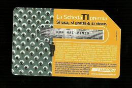 1261 Golden - La Scheda Ti Premia - Gialla Da Euro 2.58 Telecom - Öff. Werbe-TK