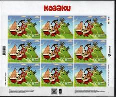 UKRAINE MNH 2020 Cartoon Cossacks ** New - Ucrania