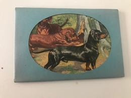 Pochette De 7 Cartes Postales Anciennes Chiens Publicité Intermills - Dogs
