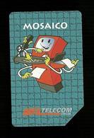 472 Golden - Mosaico Da Lire 5.000 Telecom - Öff. Werbe-TK