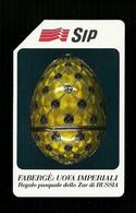 105 Golden - Uova Fabergè Da Lire 5.000 Sip - Öff. Werbe-TK