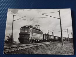 Locomotive, Train . LOCOMOTIVE ELECTRIQUE - Type Bo Bo - Old Postcard - Treni