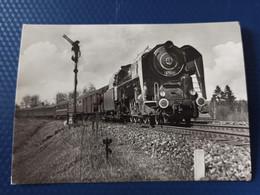 2 D 1 General Purpose  Locomotive, Train . LOCOMOTIVE -  - Old Postcard - Treni