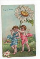 """""""  Gage  De  Amitié  """"   -  Cupidon  Couvert  Les  Yeux  D,enfant - Andere"""