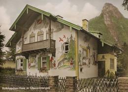 OBERAMMERGAU - Rötkappchen-Haus ALLEMAGNE Bavière Maison Du Chaperon Rouge GERMANY House Of The Red Riding Hood - Vertellingen, Fabels & Legenden
