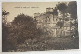 34  Roujan 1935 Chateau De Margon Batisses  Verger -dos Vert - Altri Comuni