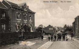 Stockay St.-Georges, Rue Du Centre, Feldpost 1916 - Saint-Georges-sur-Meuse