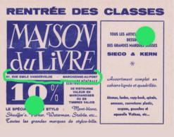 MARCHIENNE AU PONT Buvard De La Maison Du Livre Vers 1950 /60 + Stylo Parker Waterman  Etc - Kids