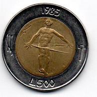 San Marin -  500 Lires 1985 R - SUP - San Marino