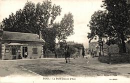 N° 4022 Z -cpa Toul -la Porte Jeanne D'Arc- - Toul