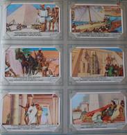 CHROMOS CHROMO LIEBIG - SERIE DE 6 -  GESCHIEDENIS VAN EGYPTE - HISTOIRE DE L'EGYPTE - Liebig