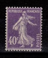 Semeuse YV 236 N** Cote 4,20 Euros - Unused Stamps